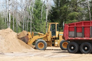 Dump truck & Loader equipment