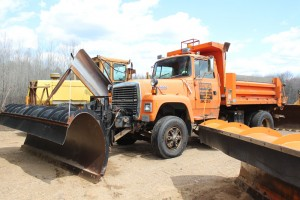 Road plow truck equipment plow