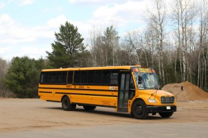 Full-size C2 bus school_bus charter_bus
