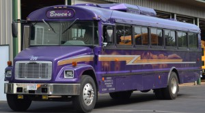 Charter bus side Makeover, charter_bus